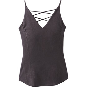 Prana Arrowland Top sin Mangas Mujer, charcoal